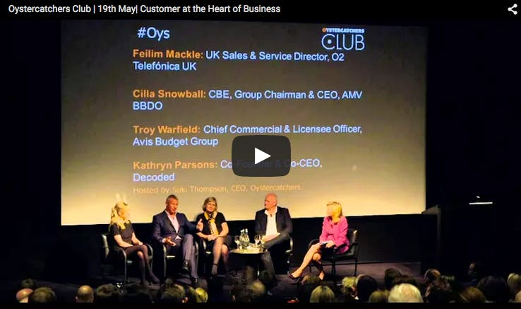 Cherish your job or your customer? Insights from Oystercatchers Club Evening